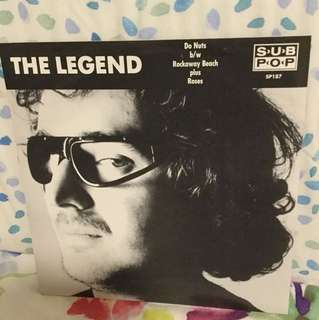"The Legend - 7"" vinyl record single - grunge era beat poet"