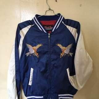 Jaket Sukajan Blue
