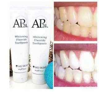 Whitening toothpaste peroxide free