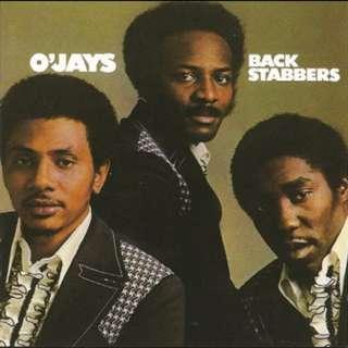 "O'JAYS 'Back Stabbers' 7"""