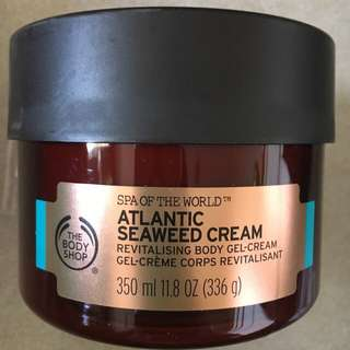 The Bodyshop Atlantic Seaweed Cream 350ml Spa of the world