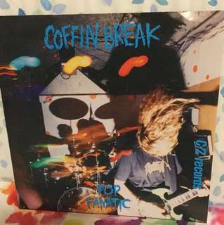 "Coffin Break - 7"" vinyl record single - grunge era"