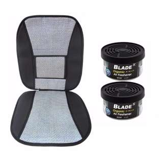 Blade 10E Seat Cushion (Gray/Black)  +  Blade Organic Air Freshener Musk