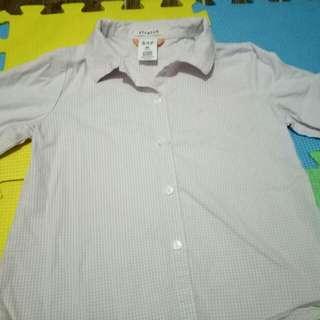 Gap 3/4 polo Shirt(Size 3-4 y/o)