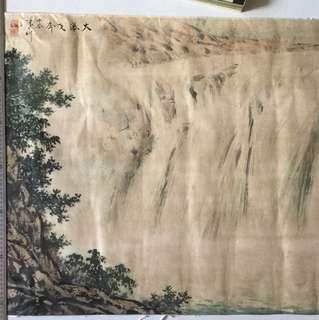 画家张大昕68x135cm Chinese painting