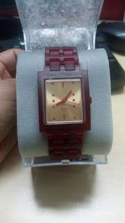 JAM TANGAN SWATCH SUAR100 Ruby Nightbird
