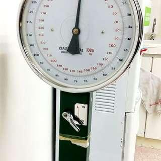 古老全機械式磅秤 (運作正常)