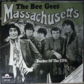 "THE BEE GEES 'Massachusetts' Mono 7"""