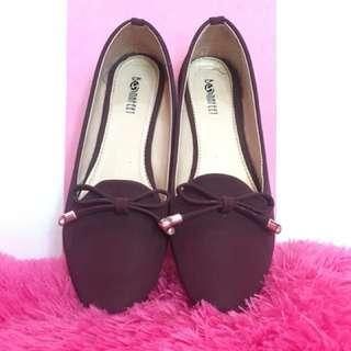Flatshoes marron