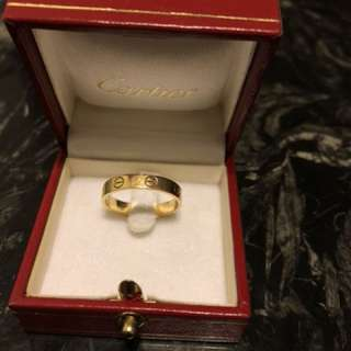 Cartier love ring size 56