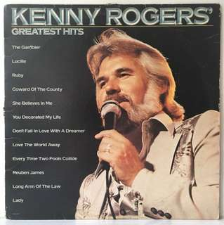 Kenny Rogers ‎– Greatest Hits (1980 US Original - Vinyl is Excellent)