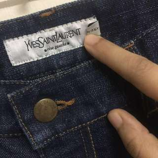 Authentic YSL flare jeans