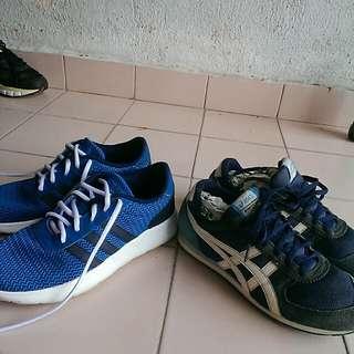 Adidas & asics combo set ori