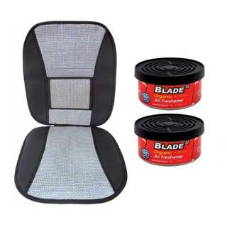 Blade 10E Seat Cushion (Gray/Black) +  Blade Organic Air Freshener Grapefruit