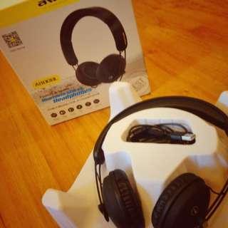 Aweo A800bl wireless bluetooth headphones