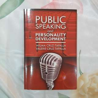 Public Speaking and Personality Development by Wilma Cruz-Tapalla and Valerie Cruz Tapalla (book)