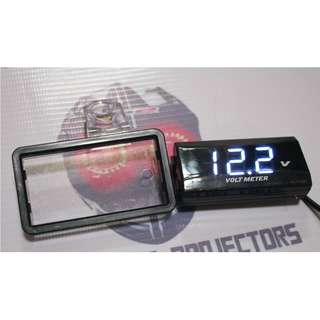 Acrylic Holder for VOLT METER slim digital