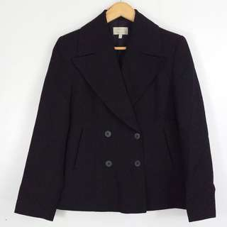 [RESERVED] G2000 Black Double Breasted Blazer Jacket Coat
