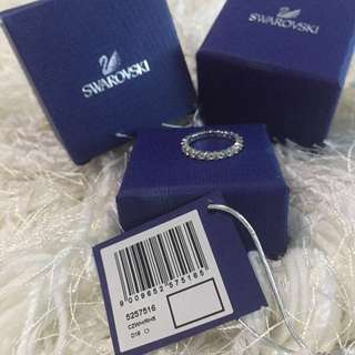 Authentic Swarovski Ring size 48