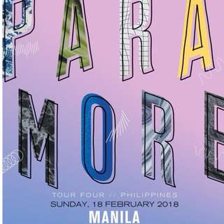 LOOKING FOR 2 PARAMORE TICKETS (UPPER BOX TO VIP)