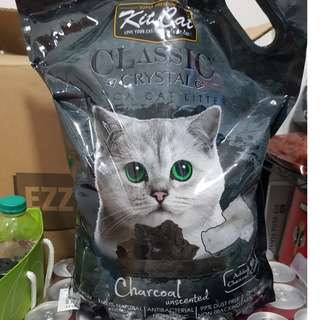 Kit Cat Classic Crystal Cat Litter Charcoal Unscented