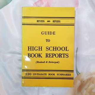 Guide to High School Book Report (Revised & Enlarged)