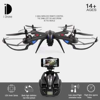 i8H drone tarantula x6 new with camera wifi 5mp HD