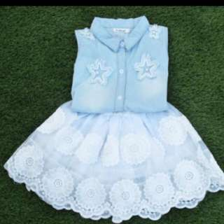 Brand new girl clothes. For 2 years old and above!