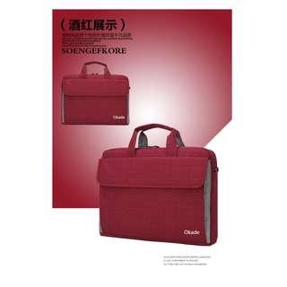 2018新品Okade/奧卡達電腦包商務防水電腦包特價促銷