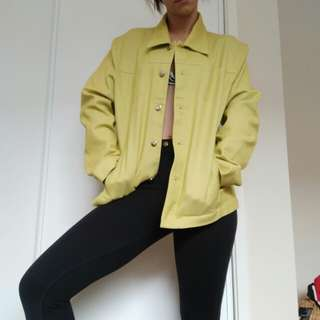 Yellow green jacket
