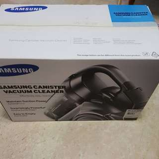 (NEW) Samsung canister vacuum cleaner