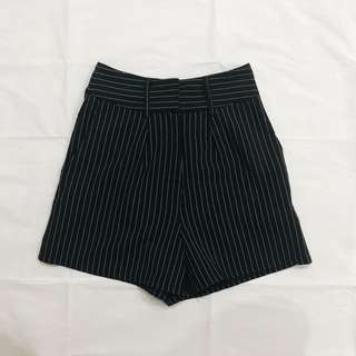 ssd pinestripes black stripes shorts shop sassy dream