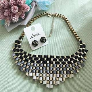 Lovisa Necklace and earrings
