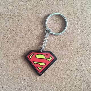 Superman keyring / keychain