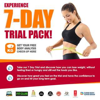 7 days weight loss trial!