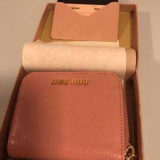 🈹 (可議價)全新 Miu Miu coins bag