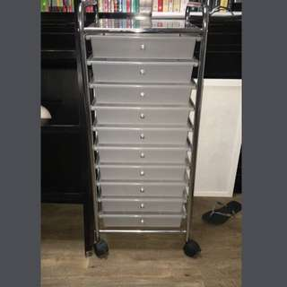 Office works drawer trolley