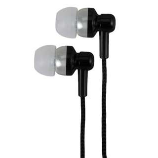 Astrum Earphone w/ Wire Mic & Control,Metallic Paint Black