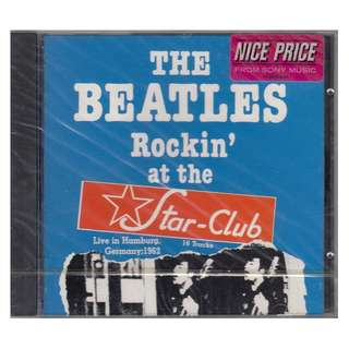 The Beatles: <Rockin' at the Star-Club 1962> 1991 CD (Brand New)