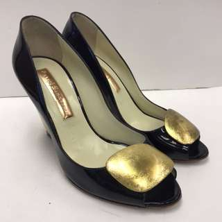 Rupert Sanderson Patent Leather High Heel