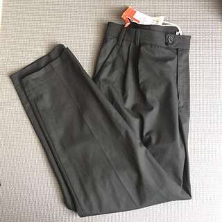 Pull and bear black trousers