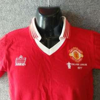 Manchester United MU Admiral 1977