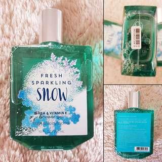 Bath & Body Works Fresh Sparkling Snow Shower Gel