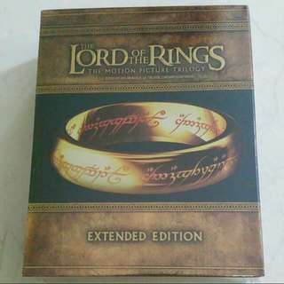 The Lord Of The Rings (Extended Edition ) Blu ray
