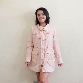 Baby Pink Parka
