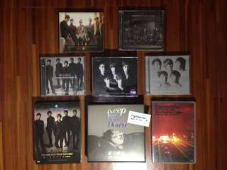 TVXQ ALBUMS FOR SALE (250-400 EACH)