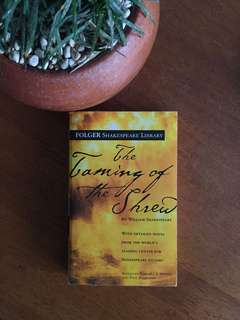 The Taming of The Shrew by William Shakespeare : Folger Shakespeare Library