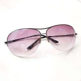 Sunglasses gradient purple black shade