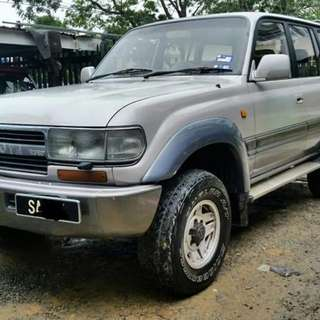Toyota Land Cruiser HDJ81 4.2(A)
