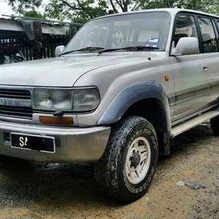 Toyota Land Cruiser HDJ81 4.2(A)